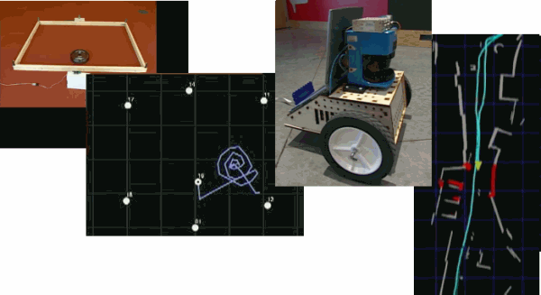Mosaic of Robotics images