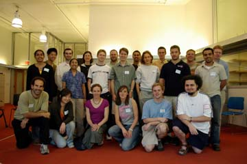 Group Photo of Stata-33x denizens as of September 2005